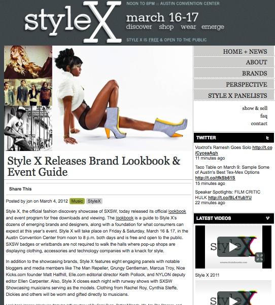 Style x image